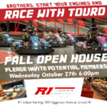 Touro Fall Open House at R1 Racing | Wednesday October 27, 2021